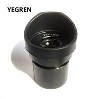 Lente ocular ótica larga do ocular do campo wf15x para o tamanho estereofônico 30 30.5mm da montagem do microscópio com protetores de borracha dos copos do olho