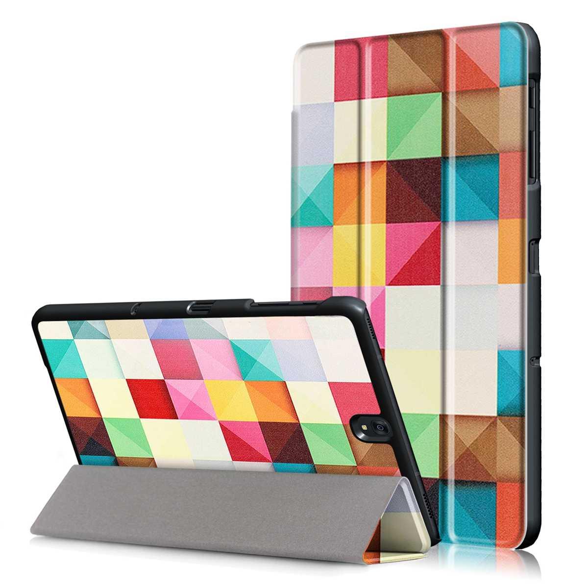 CASEWIN Tri-Vouw PU Leather Tabletten gevallen Voor Samsung Galaxy Tab S3 9.7 T820/T825 Stand Tablet Case met Auto Wake/Sleep