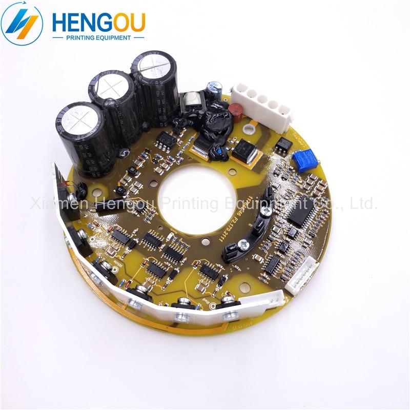 Offset F2.179.2111 117641-46 circuit imprimé Ventilateur Interne Lecteur Conseil pour SM74 SM52 CD102 CX102 XL105 imprimante