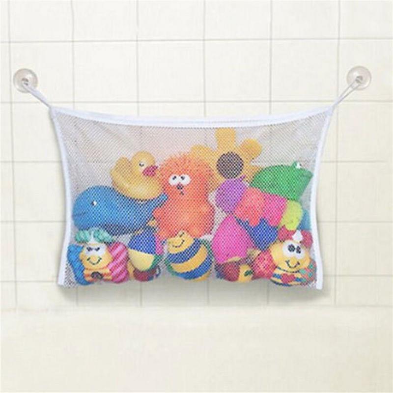 Baby Bath Bathtub Toy Net Storage Bag Mesh Organizer Holder Shower Bathroom