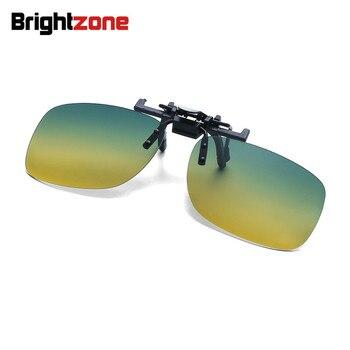 7101180c2e Gafas de sol polarizadas de 9 colores con Clip para gafas de sol para  hombre y mujer con lentes de visión nocturna anti-uva clip-on