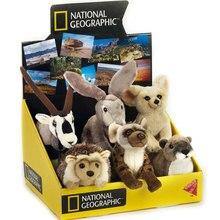 National Geographic пустынные животные пушистые игрушки кукла пустыня Хлопок Кролик Ежик ушная раковина Foxing The Hyena Oryx