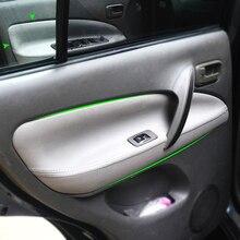 Car Microfiber Leather Door Handle Armrest Panel Cover For Chery Tiggo 2005 2006 2007 2008 2009 2010