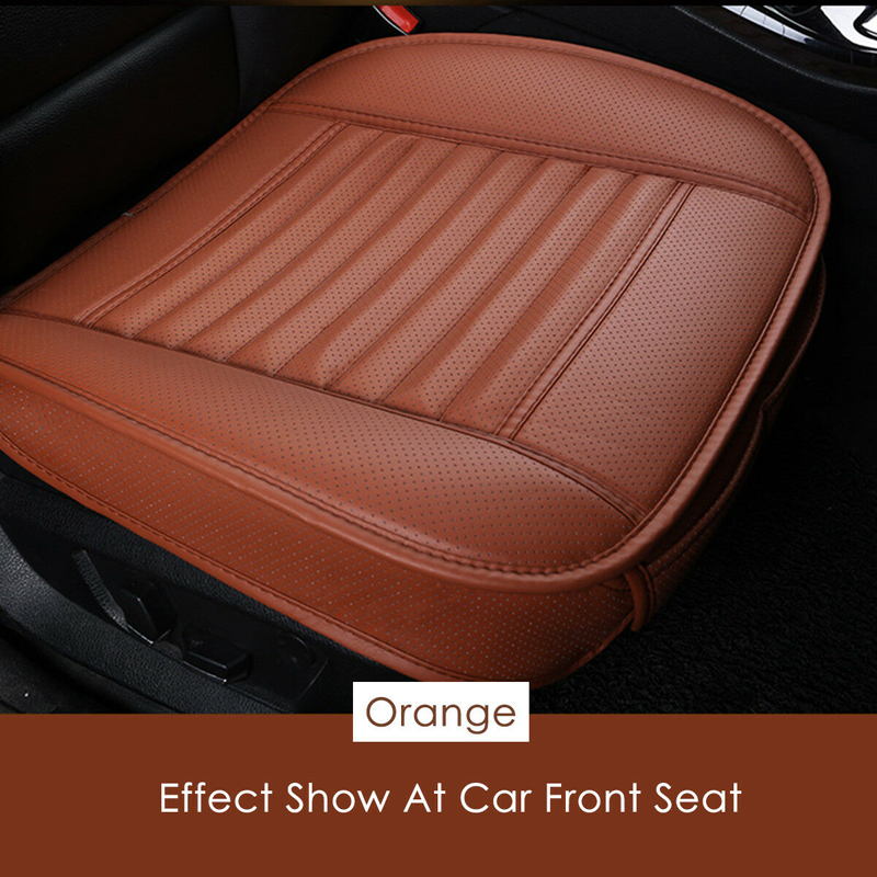 Image 4 - Universal Car Seat Cover Breathable PU Leather Pad Mat For Auto Chair Cushion Car Front Seat Cover Four Seasons Anti Slip Mat-in Automobiles Seat Covers from Automobiles & Motorcycles