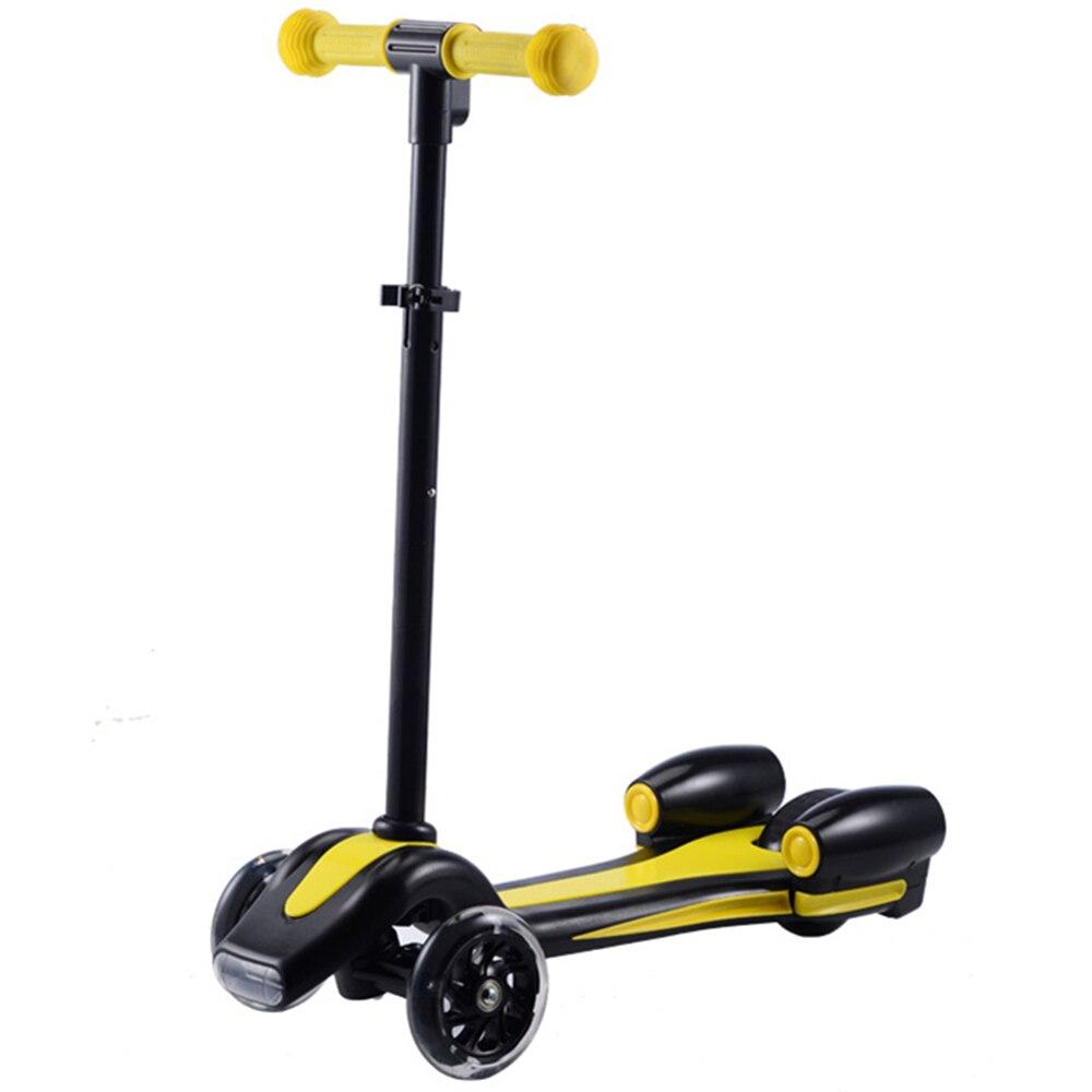 Enfants créatifs enfants Flash Spray Scooter avec poignée réglable monter sur les voitures sport jouet enfant Skateboard Scooter électrique - 5