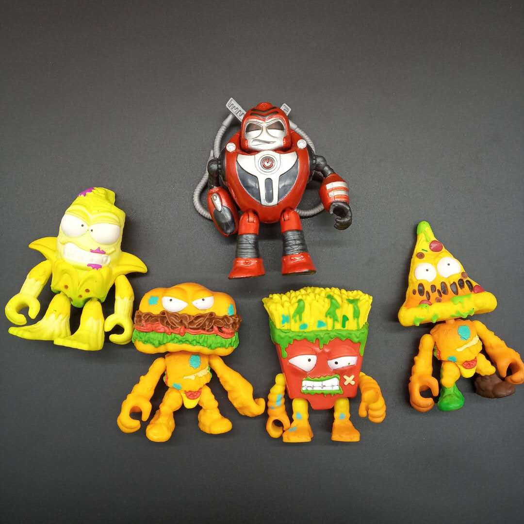 50Pcs//lot NEW The Grossery Gang Action Figure Pack Limited Edition ORIGINAL TOYS