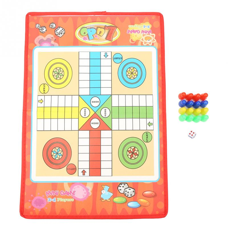 Nuevo juego de serpiente Y escalera tradicional de viaje niños regalo de vacaciones de verano