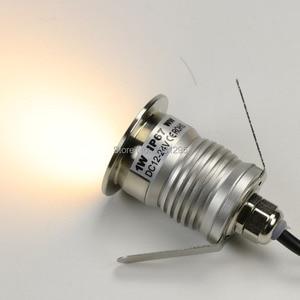 Image 4 - 3W IP67 עמיד למים CREE LED חיצוני קרקע גן נתיב סיפון רצפת מחתרת נקבר מנורת Inground Uplight שקוע ספוט אור
