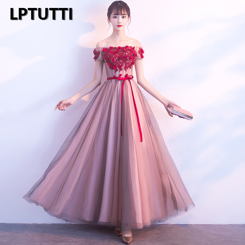 LPTUTTI Appliques Strapless New For Women Elegant Date Ceremony Party Prom Gown Formal Gala Luxury Long Evening Dresses  13