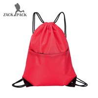 10 pcs custom logo Drawstring pouch Training canvas small Backpack men Bag school Sports Waterproof sack mochila knapsack DB8