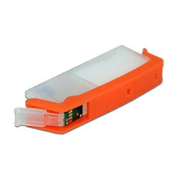 6 色 PGI-680 CLI-681 詰め替えインクカートリッジ使い捨てチップキヤノン製 Pixus TS8160 TS9160 PGI 680XL 680XXL