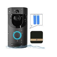 B30 Wifi дверной звонок Ip65 Водонепроницаемый умный видео дверной звонок 720 P беспроводной домофон Fir сигнализация ИК ночного видения ip-камера (ЕС штекер)