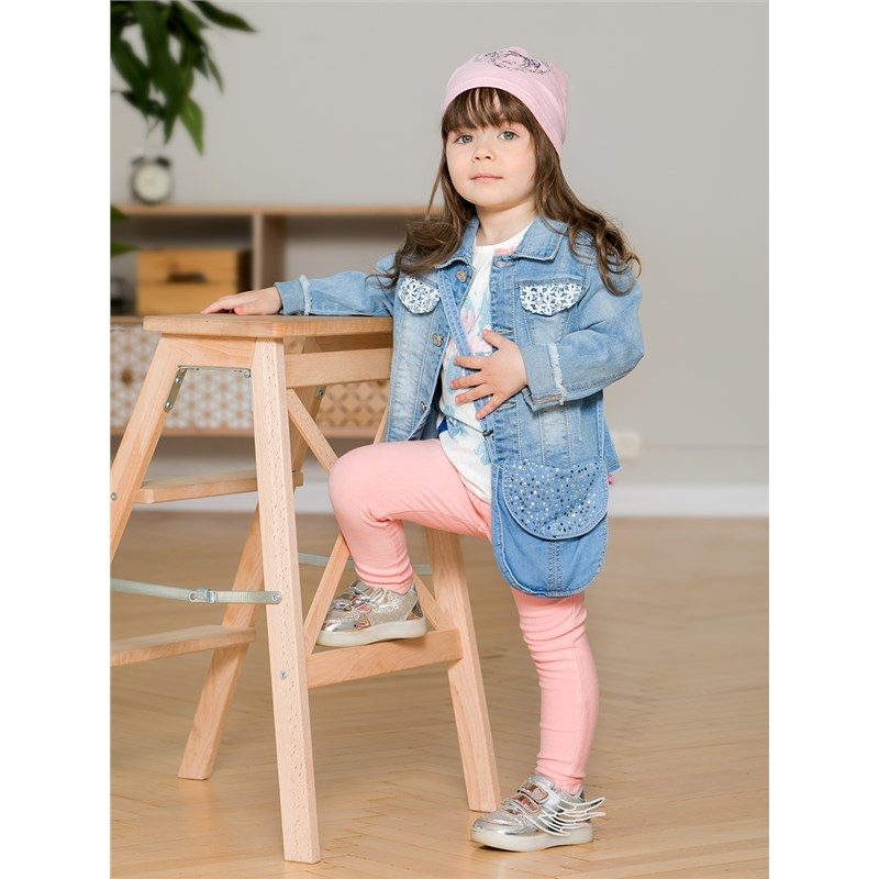 Jeans Sweet Berry Denim bag for girls children clothing kid clothes girls tassel flat pu crossbody bag