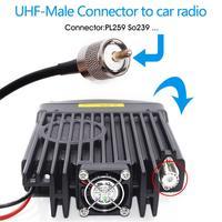 uhf dual band אנטנה Rondaful HH-N2RS מיני Dual-Band אנטנה מגנטית הר 5M RG58 PL-259 UHF / VHF שנקבע רכב נייד רדיו (5)