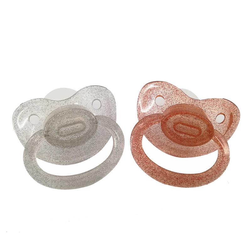 Ddlg chupete de bebé para adulto y niña, tamaño grande personalizado, chupete de silicona para adulto, pequeño espacio, Daddys, niña adulta, chupete para niño