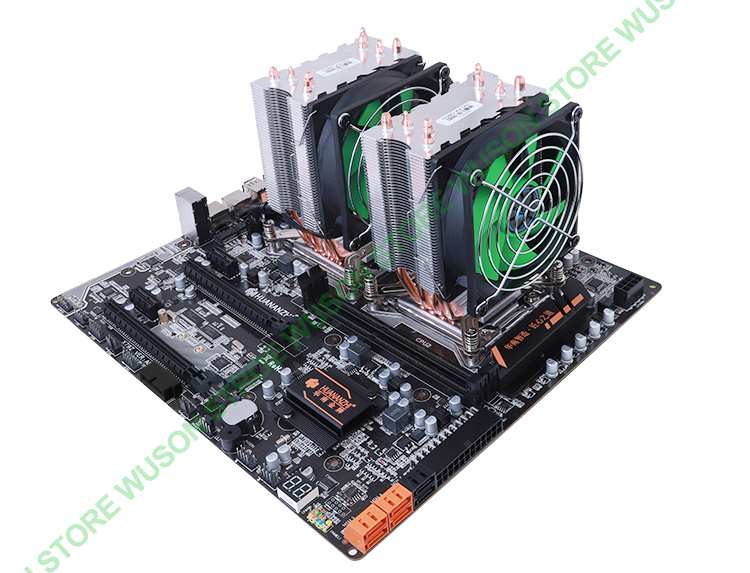 Image 4 - Discount motherboard bundle HUANAN ZHI dual X79 LGA2011 motherboard with M.2 slot dual CPU Intel Xeon E5 2670 V2 RAM 64G(4*16G)-in Motherboards from Computer & Office