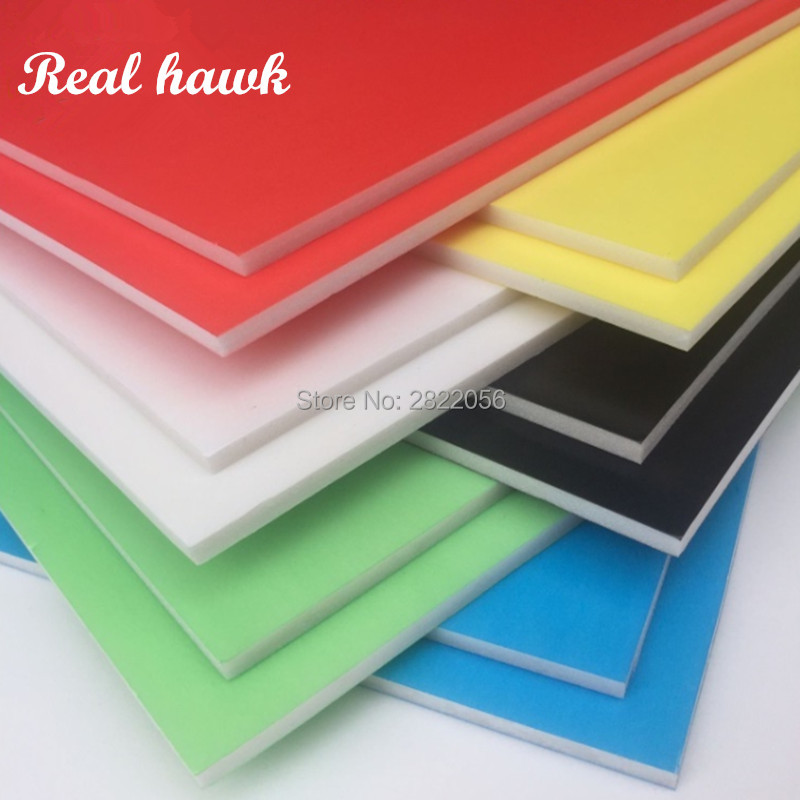6 Color A3 Size 420x297mm Thickness 5mm Kt Board Foam Board Paper Plastic Board Model Material FOR Kt RC Model Free Shipping