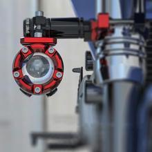 2x Barra di Estensione Staffa Riflettore Modifica Accessori Off-Road Luce Del Motociclo Esterno Fisso Supporto Della Lampada Light Fixture