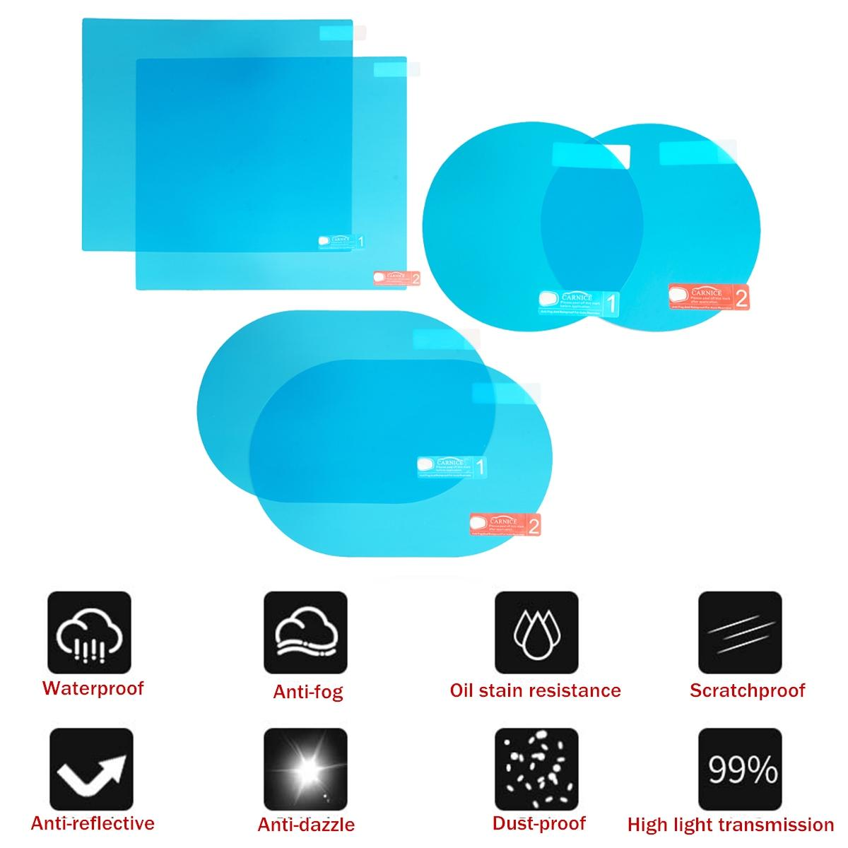 2pcs Transparent Anti-Slip Sticky Mat Small Non-Slip Pad Car Dashboard Moible Phone Holder Regard L