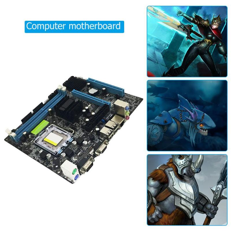 2019 newest Computer Motherboard G41 PC Computer Motherboard Support LGA 775 Dual Core Quad Core CPU