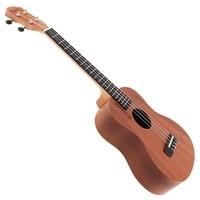 YAEL 21/23/26 Inch Ukulele Acoustic Guitar Sapele Wood Hawaii Ukelele 4 Strings Musical Instrument Soprano/Concert/Tenor Ukulele