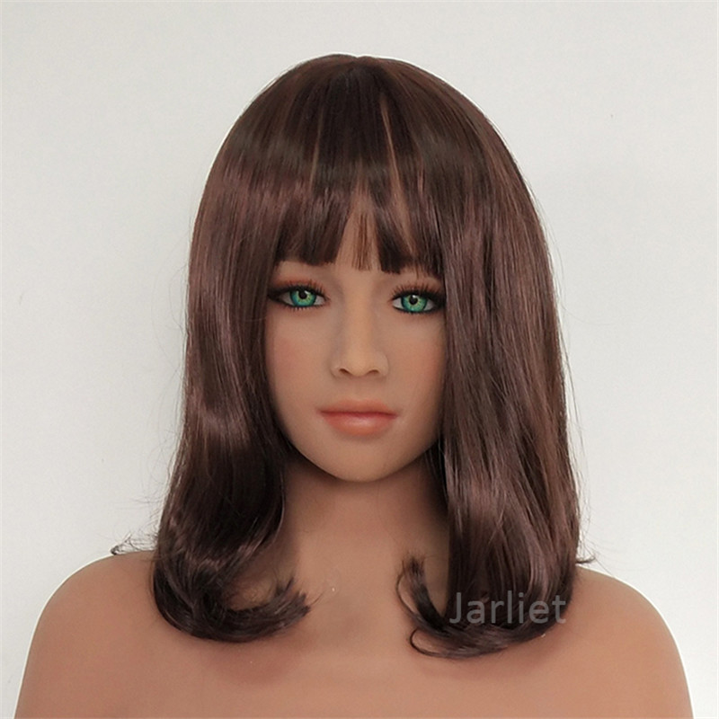 TPE Customize Head Doll for 140cm to 176cm Full Size Body Sex Dolls with Oral Sex Hole Men Masturbation #4TPE Customize Head Doll for 140cm to 176cm Full Size Body Sex Dolls with Oral Sex Hole Men Masturbation #4
