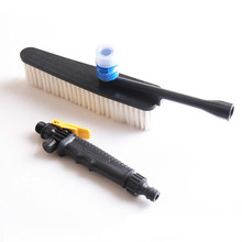 Car Wash Cleaner Addition Automatic Watering Cleaning Brush Long Handle Switch Tool