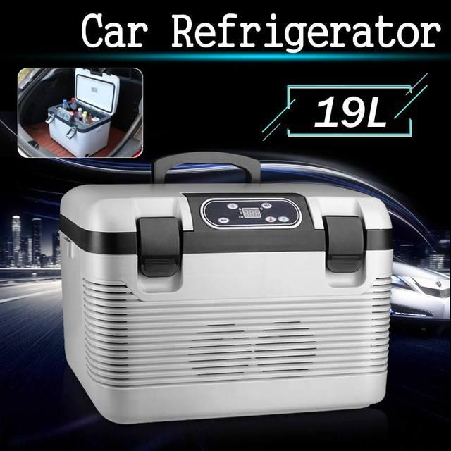 19L Frigorifero Auto Freeze riscaldamento DC12 24V/AC220V Compressore Frigorifero per la Casa Auto Picnic riscaldamento Refrigerazione 5 ~ 65 gradi