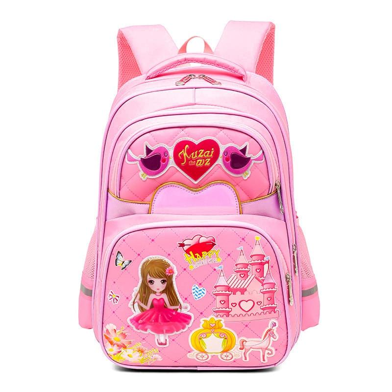 Kids Backpack Schoolbag Orthopedics Backpack Boys Girls School Bags Waterproof Backpack Bookbag 1 -3 Grade Mochila Infantil