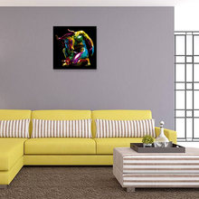 New 2018 abstract mythical character poster bedroom art painting Home decoration(China)