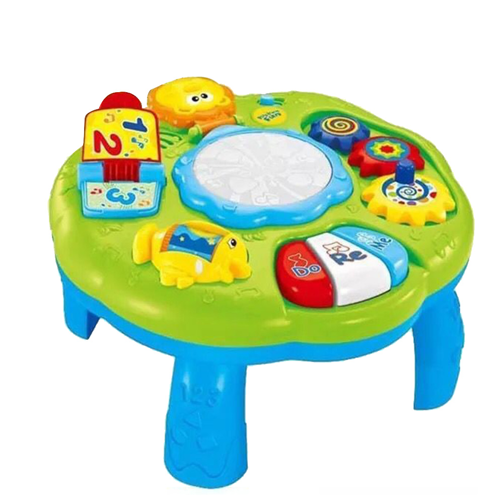 Musical Infants Lighting Baby Toys Activity Sound Center Game Oyuncak Toddlers Learning Table Early Education PlayMusical Infants Lighting Baby Toys Activity Sound Center Game Oyuncak Toddlers Learning Table Early Education Play