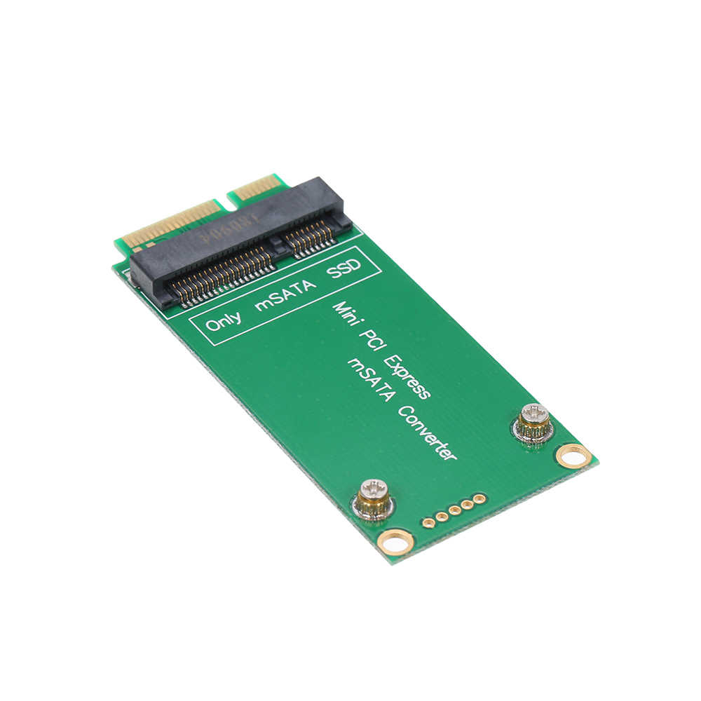 Mini PCI-E Express Card Adapter mSATA Converter per ASUS Riser Card per SSD
