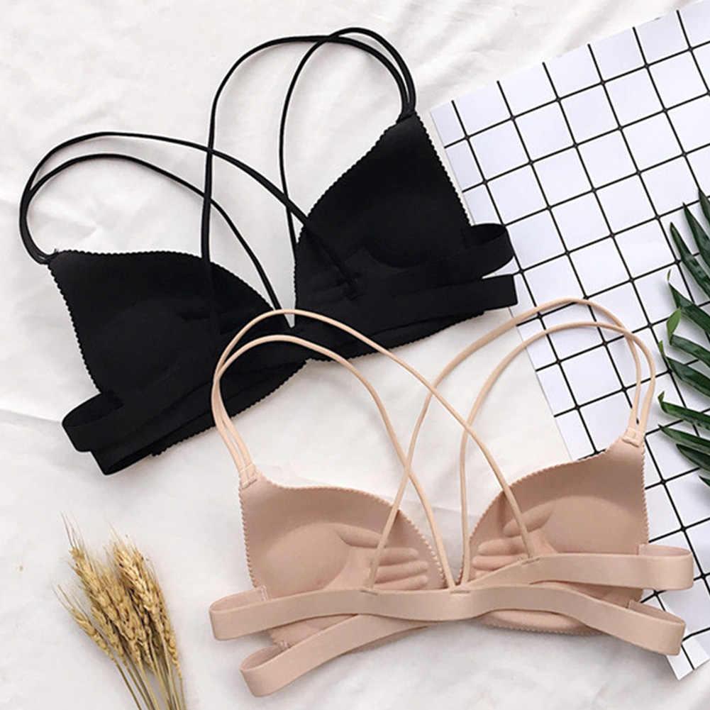Nữ Lưng Làm Đẹp Nữ Trước Đóng Cửa Dây Giá Rẻ Thời Trang Áo Ngực Gợi Cảm Đệm Lót Bralette Tập Hợp Push Up