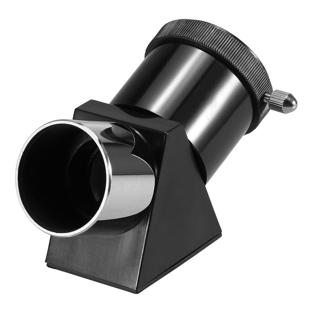 0.965 90 Deg Mirror Telescope Diagonal Adapter for Eyepiece Astronomical