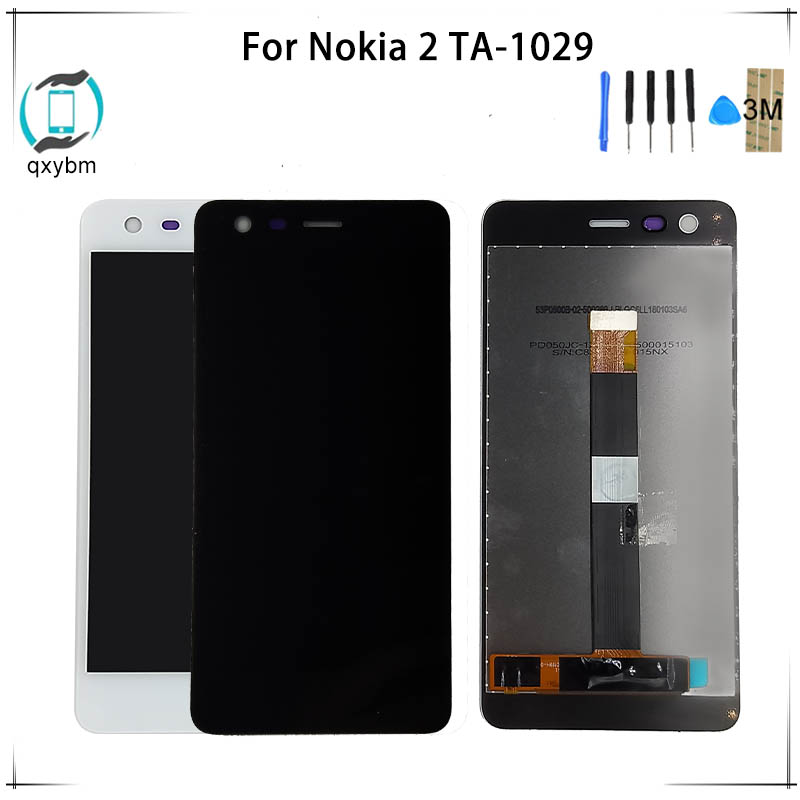 5.0 Inch For Nokia 2 N2 Ta-1029 Lcd Display With Touch Screen Digitizer Assembly Test One By One 2019 Official Mobile Phone Parts