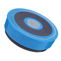 Indicador de esfera azul cubierta trasera magnética soporte indicador 58MM duradero