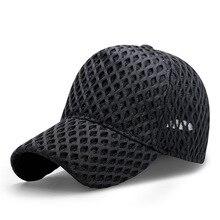 Plus size baseball cap for man adult summer mesh hip hop hat big head men large size plain snapback caps M 56-60cm L 60-62cm