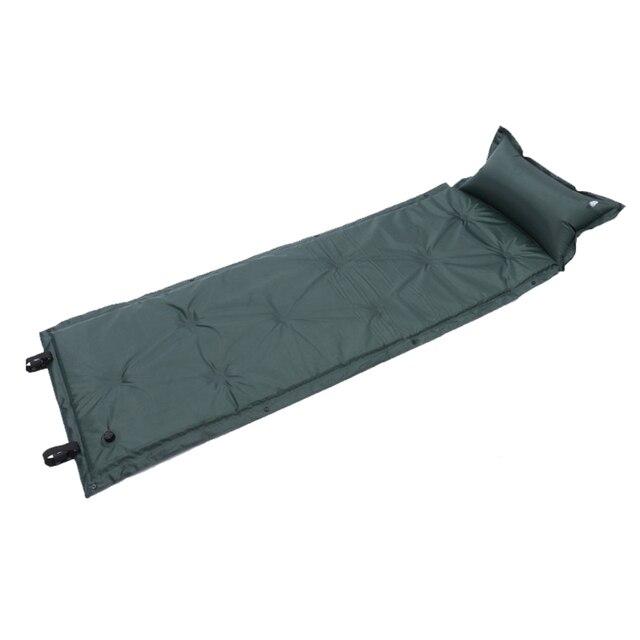 Self Inflating Camping Roll Mat Sleeping Bed Inflatable Pillow Mattress 3