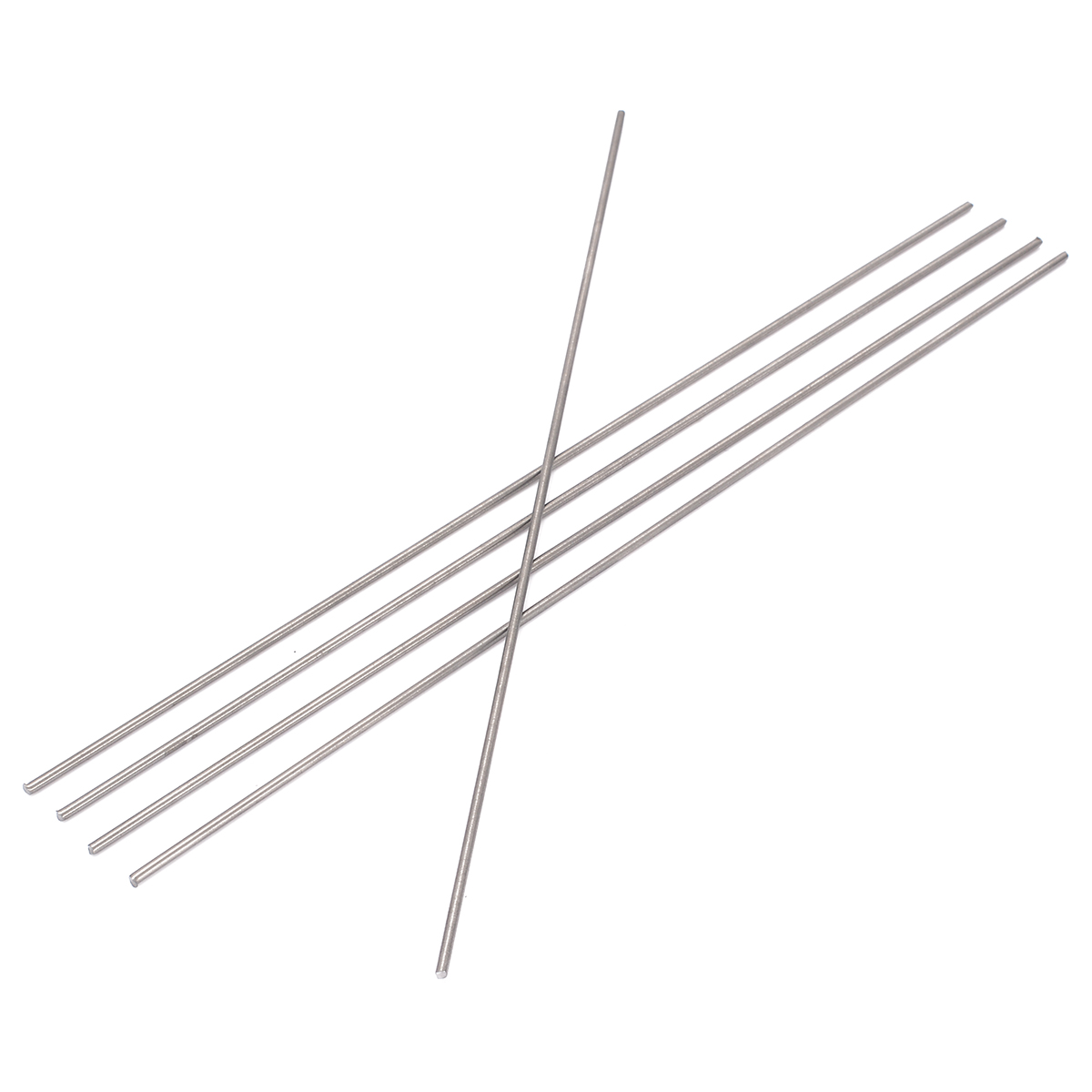 5pcs Round Ti Bar Grade 5 Metal Rods 2*250mm Titanium Sticks For Manufacturing Gas Turbine Components