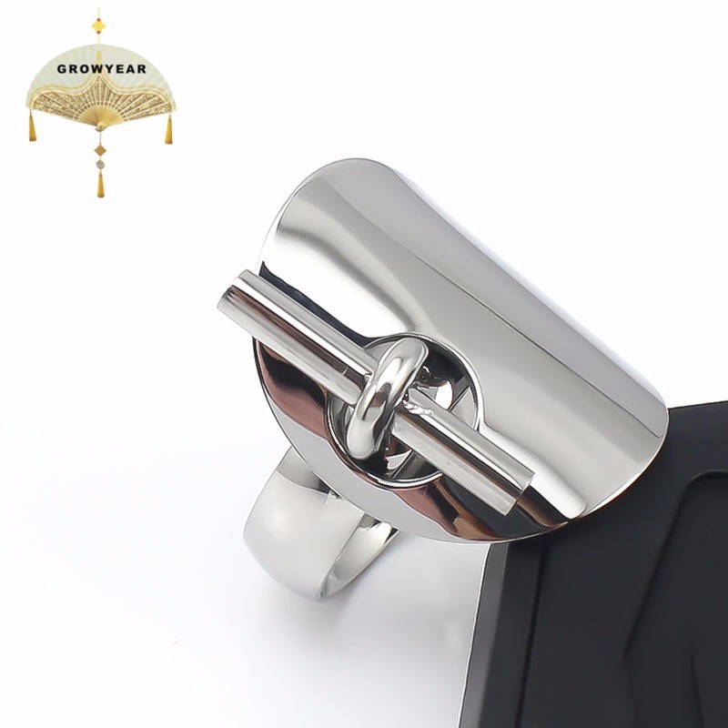 Model-Ring Ring-Size Stainless-Steel Personalized Seymour Silver-Color Men Women 7 6