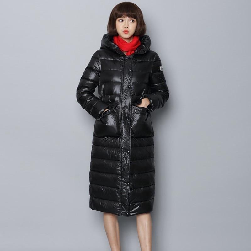 Vêtements Doudoune Long Femelle Femme Lumière Hiver Noir Black 90 Le Manteau Blanc Vers Survêtement Bas Okd551 Parka Plumes Chaud Canard 2019 Mince 0EAwH