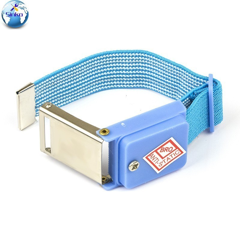 Power Tool Accessories Anti Static Bracelet Electrostatic Cordless Wireless Adjustable Esd Discharge Cable Wrist Band Strap Hand With Spare Wristband Fancy Colours Hand & Power Tool Accessories