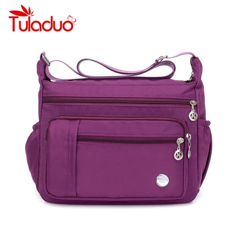 Nylon Bag Women Handbags Large Capacity Women Bag Shoulder Zipper Bags Fashion Travel Ladies Messenger Crossbody Bags Bolsa