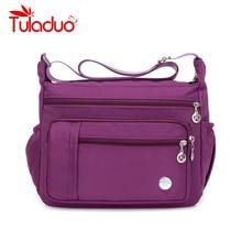 Nylon Bag Women Handbags Large Capacity Women Bag Shoulder Zipper Bags Fashion Travel Ladies Messenger Crossbody Bags Bolsa недорого