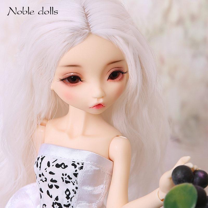 New Noble Dolls Radicelle 1/6 BJD Resin Figure Toy Gift For Christmas And Birthday Fullset Or Nude Girl ND bjd dolls lillycat constantine cream sphynx cat noble radicelle resin figures 1 4 naked toy gift for christmas or birthday