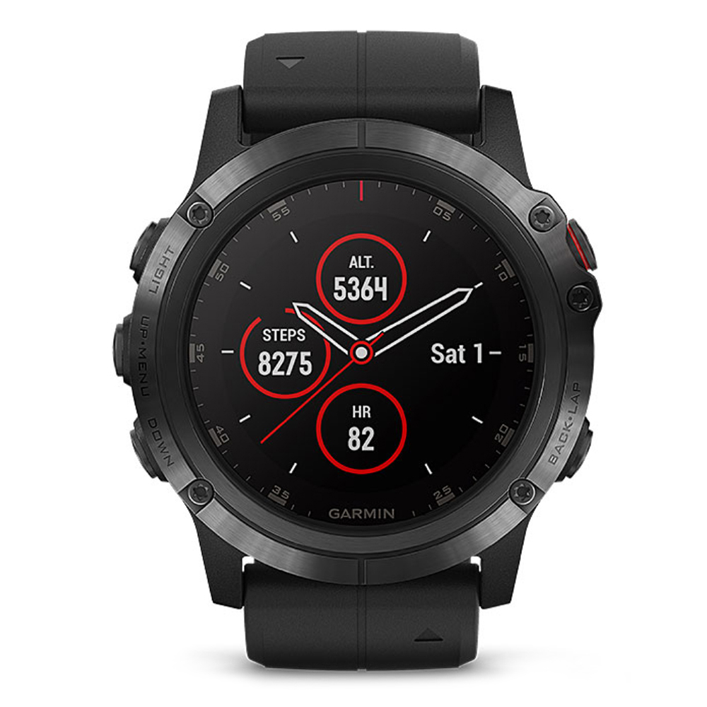 Original GARMIN Fenix 5X Plus Sapphire Mirror GPS Smartwatch Sports Bluetooth 4.0 Heart Rate Monitor Pedometer plus heart