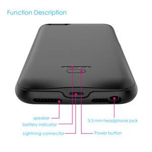 Image 4 - CASEWIN Batteria Caso del Caricatore Per il iPhone 5 5S SE 5SE Caso Della Copertura 4000mAh di Ricarica Powerbank Per il iPhone 5 6 7 8 X XR Cassa di Batteria