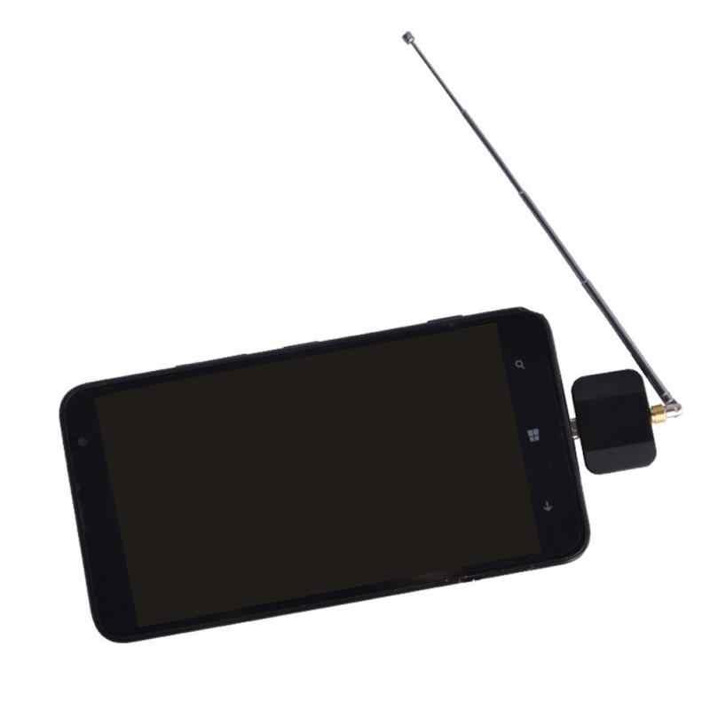 Мини Micro Настройщик USB ТВ приемник + антенна для Android смарт-телефон планшет professtion цифровой DVB-T2 DVB-T ТВ приемник + антенна