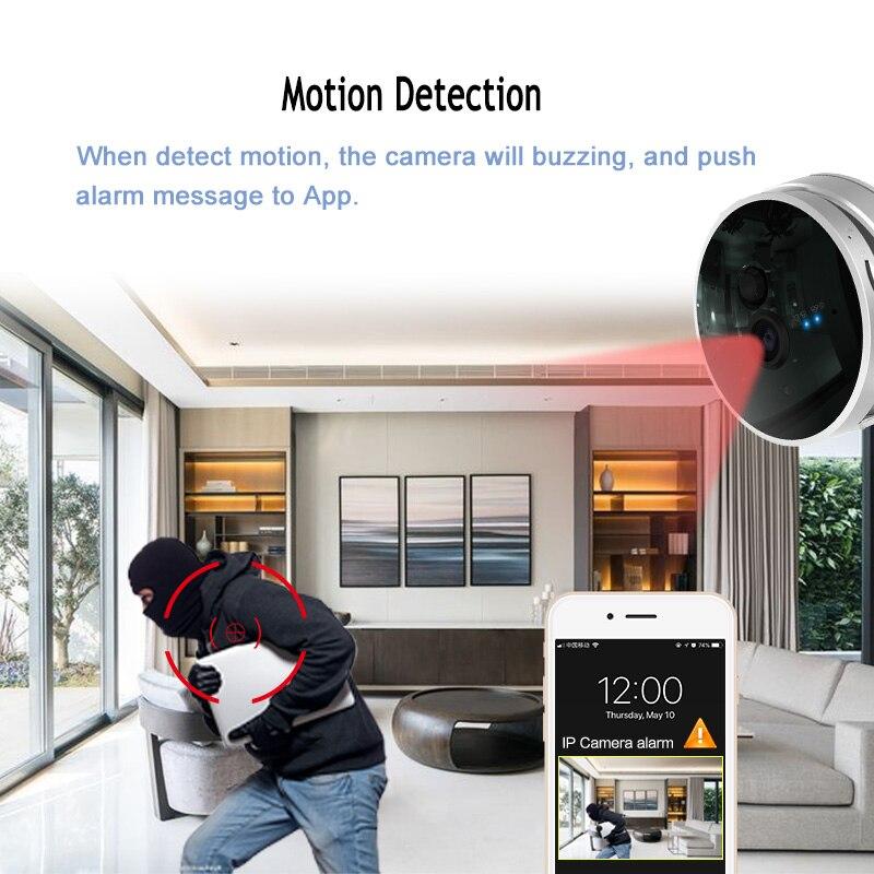Graneywell WiFi Camera 1080P HD CCTV Security Camera Home Security Wireless Camera Baby Monitor IR Night surveillance Camera - 2