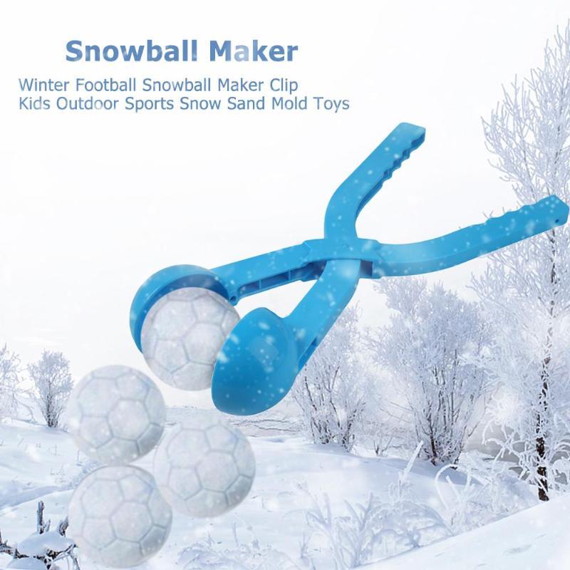 1 Stück Schneeball Maker Sand Form Werkzeug Winter Schnee Ball Maker Lustige Compact Schneebälle Kampf Outdoor Sport Schnee-kugeln Spielzeug Zufällige Farbe Seien Sie Im Design Neu